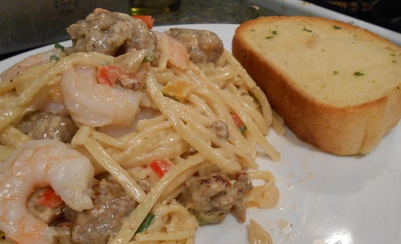 spicy creamy pasta