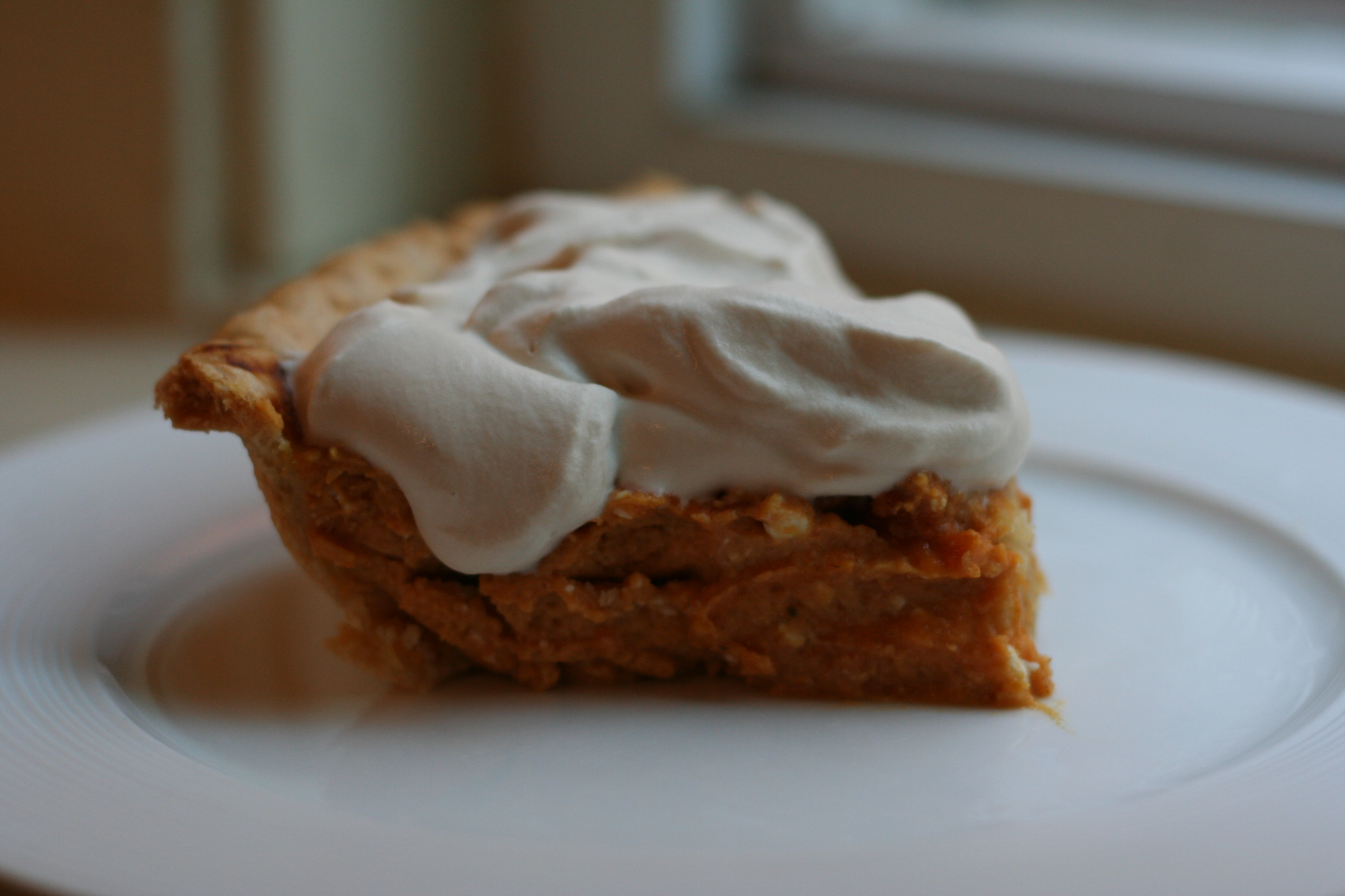 pumpkin cream pie | give me meatloaf